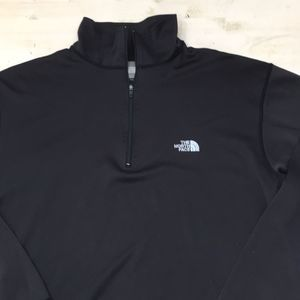 The North Face  1/4 zip pullover base layer sz S
